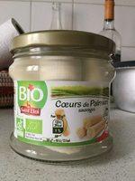 , Coeurs de palmier sauvage bio, 250 g net egoutte - Produit