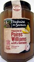 Préparation de Poires Williams du Lot et Garonne - Product - fr
