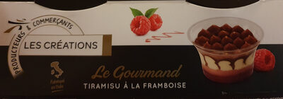 Tiramisu Framboise Les Créations - Product - fr