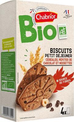 Biscuits petit déjeuner céréales pépites chocolat - Produit - fr
