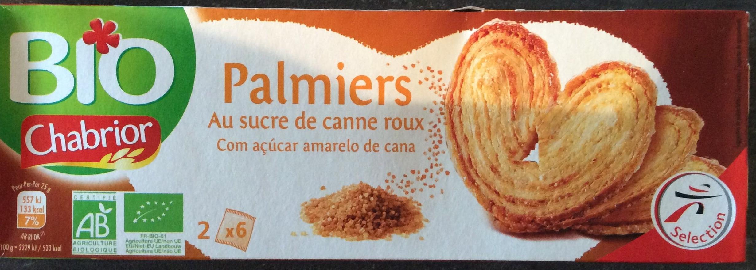 Palmiers au sucre de canne roux - Product