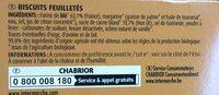 Palmiers au sucre de canne roux - Ingrediënten