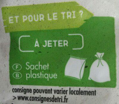 Muesli croustillant au chocolat - Istruzioni per il riciclaggio e/o informazioni sull'imballaggio - fr