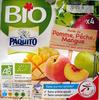 Purée de pomme, pêche, mangue bio - Product