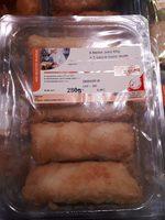 Nos Recettes Traiteur Nems porc + sauce Nuoc Mam les 4 nems de 65 g - Product - fr