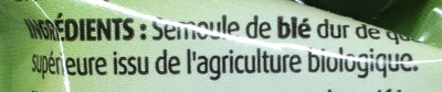 Coquillettes - Ingrédients