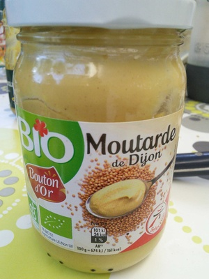 Moutarde de Dijon bio - Product - fr