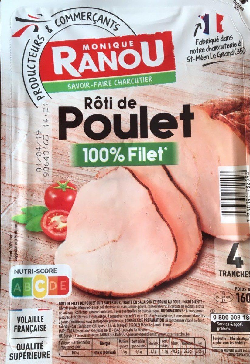 Rôti de Poulet 100% Filet - Product - fr
