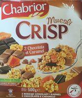 Crisp Muesli 2 Chocolats et Caramel - Produit - fr