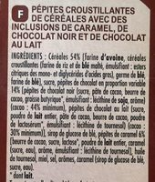 Muesli crisp - Pépites croustillantes de céréales - Ingredients - fr
