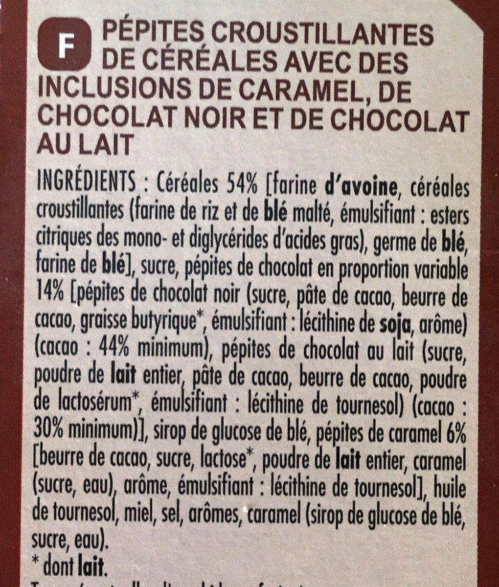 Crisp Muesli 2 Chocolats et Caramel - Ingrédients - fr