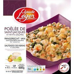 Poêlée de Saint-Jacques et petits légumes - Product