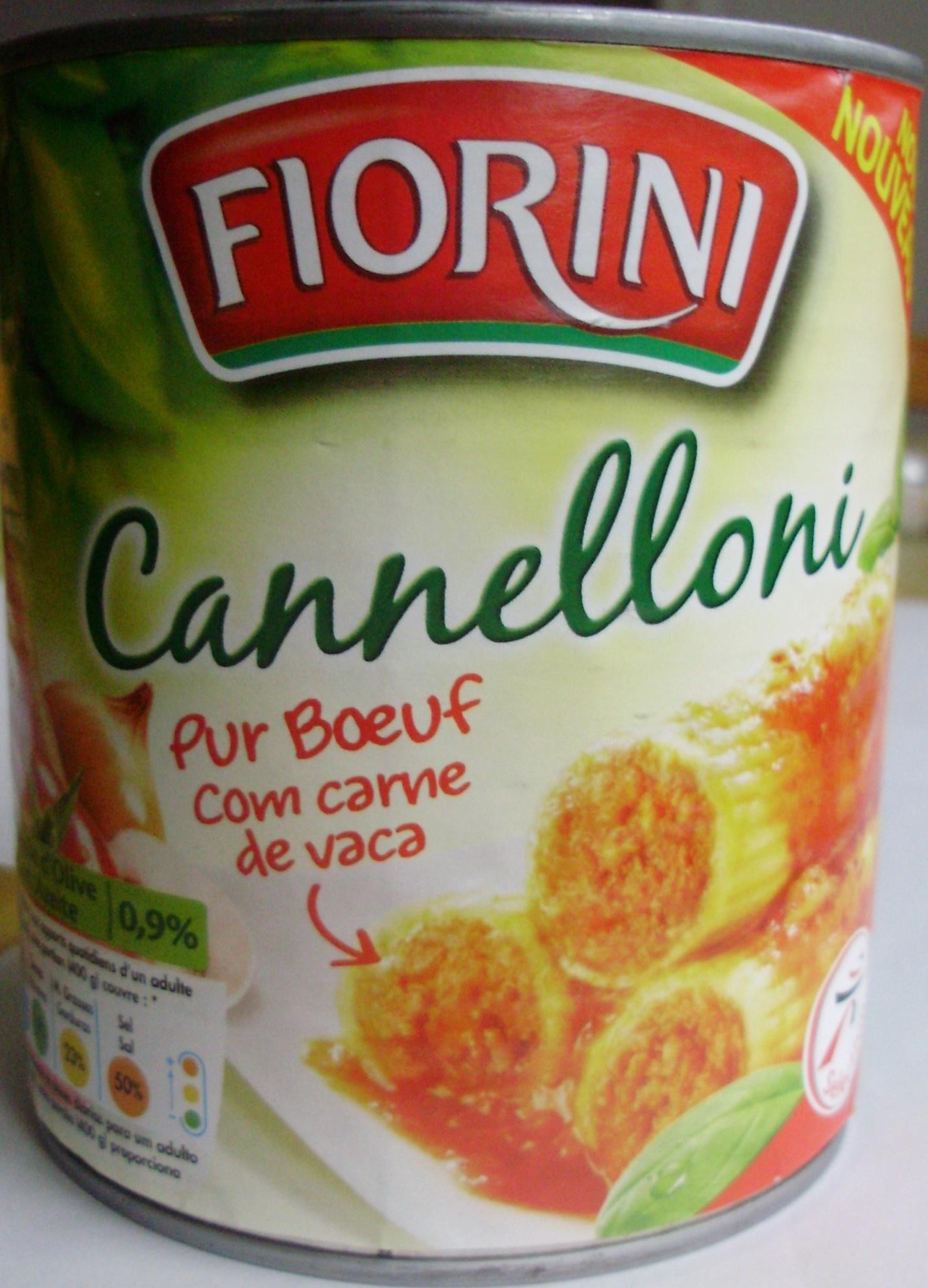 cannelloni pur bœuf - Produit - fr