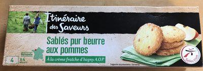 Sablés pur beurre aux pommes  A la crème fraîche d'Isigny A.O.P. - Product