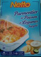 Parmentier de poisson et légumes - Product - fr