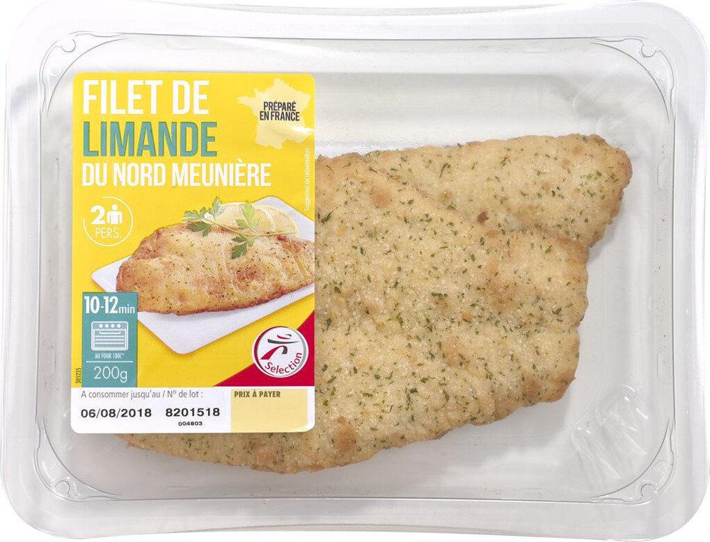 Filets de limande du Nord meunière - Product - fr