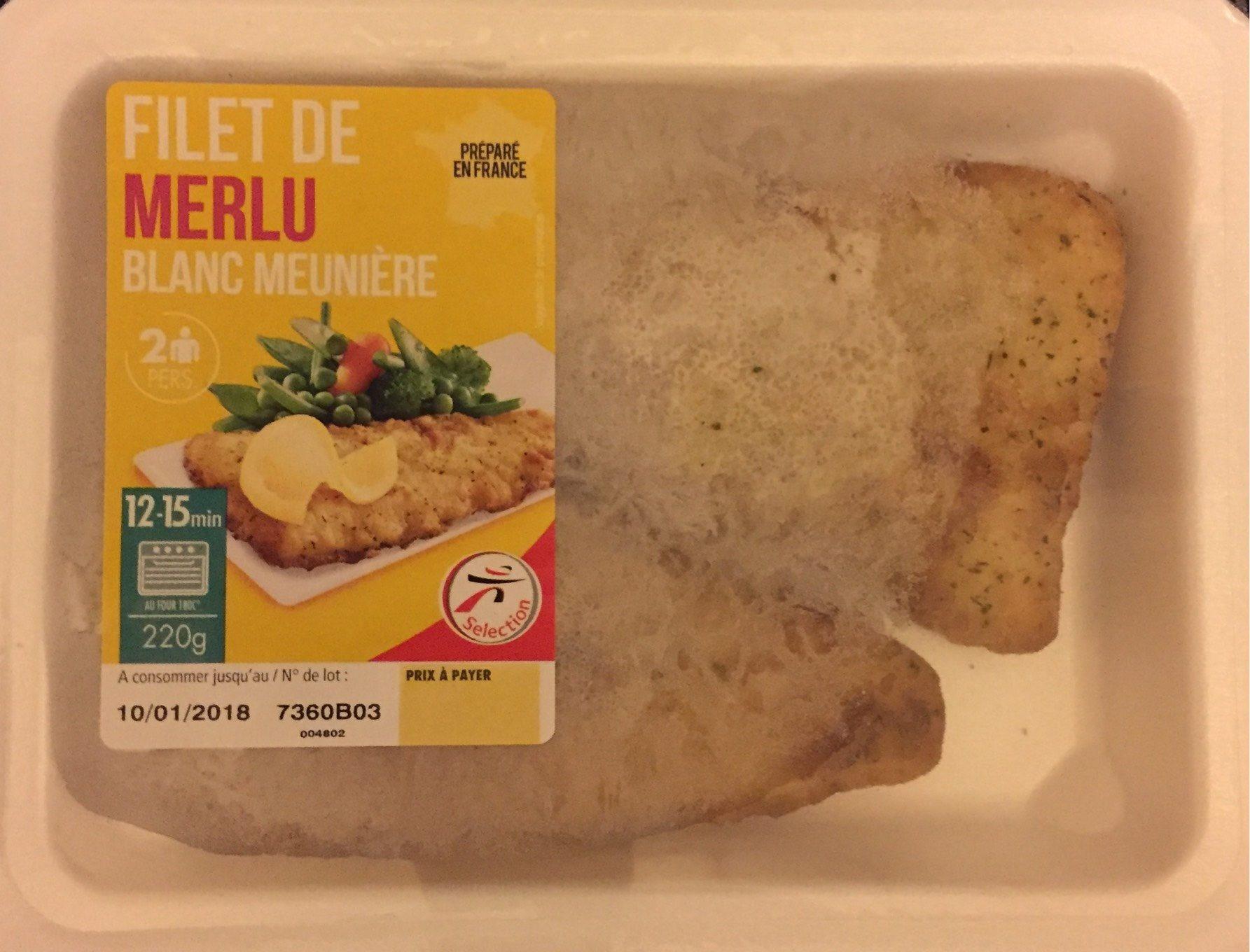 Filet de Merlu Blanc Meunière - Produit