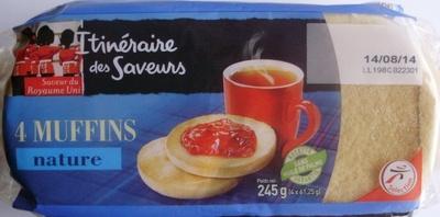 4 Muffins nature - Produit