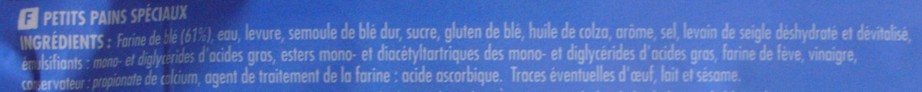 4 Muffins nature - Ingrédients