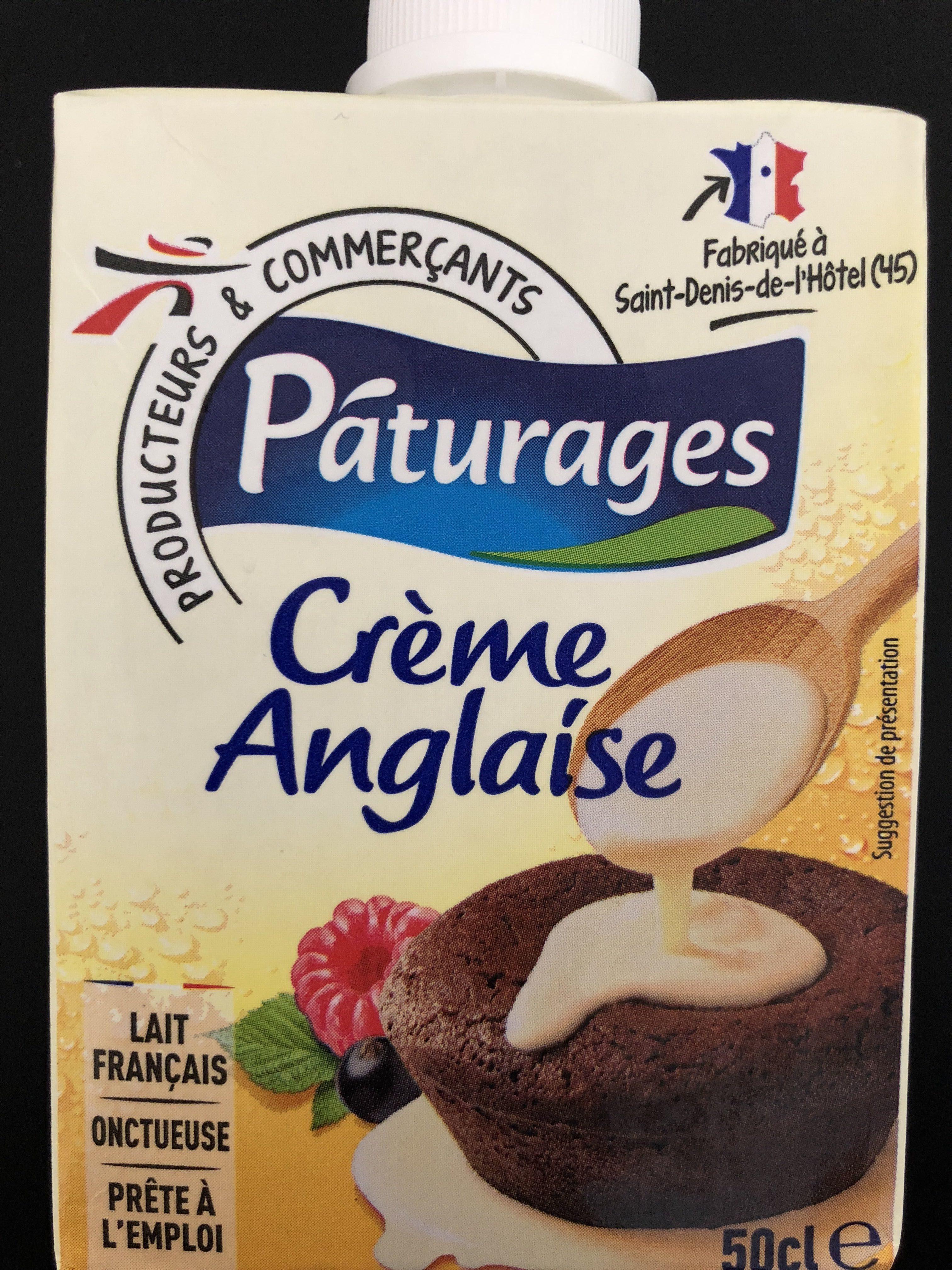 Crème Anglaise prête à l'emploi - Prodotto - fr