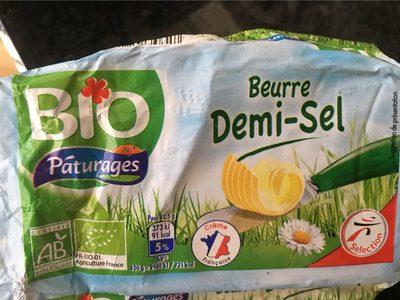 Beurre bio demi-sel - Produit - fr