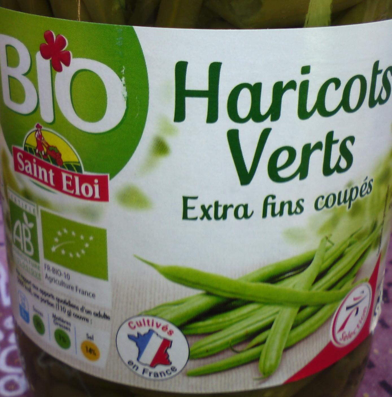 Haricots verts extra fins coupés issus de l'agriculture biologique - Product