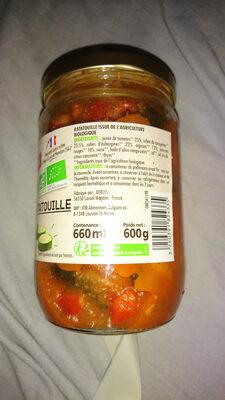 Ratatouille BIO - Ingredients - fr