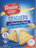 Crackers au Sésame & Pavot - Product