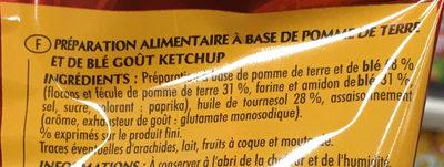 Fantomas Ketchup - Ingredients