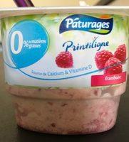 , Mousse au fromage frais Printiligne 0% mure/framboise - Produit - fr