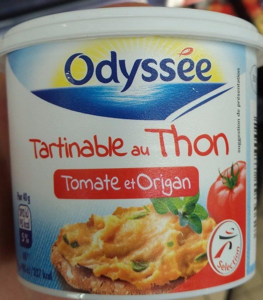 Les tartinable au thonTomates et origan - Produit