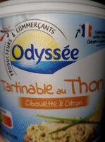 Les tartinables au thonCiboulette et citron - Product