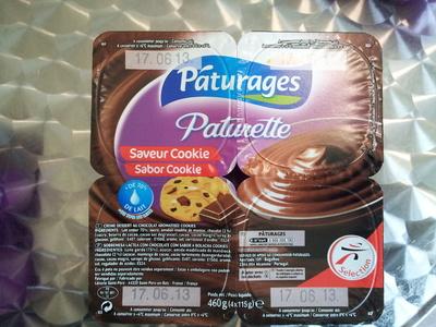 Paturette Saveur Cookie - Ingredients - fr