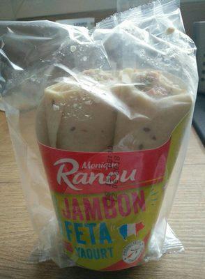 Wrap Jambon Feta sauce yaourt - Produit - fr