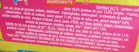 Wrap Jambon Feta sauce yaourt - Ingrédients - fr