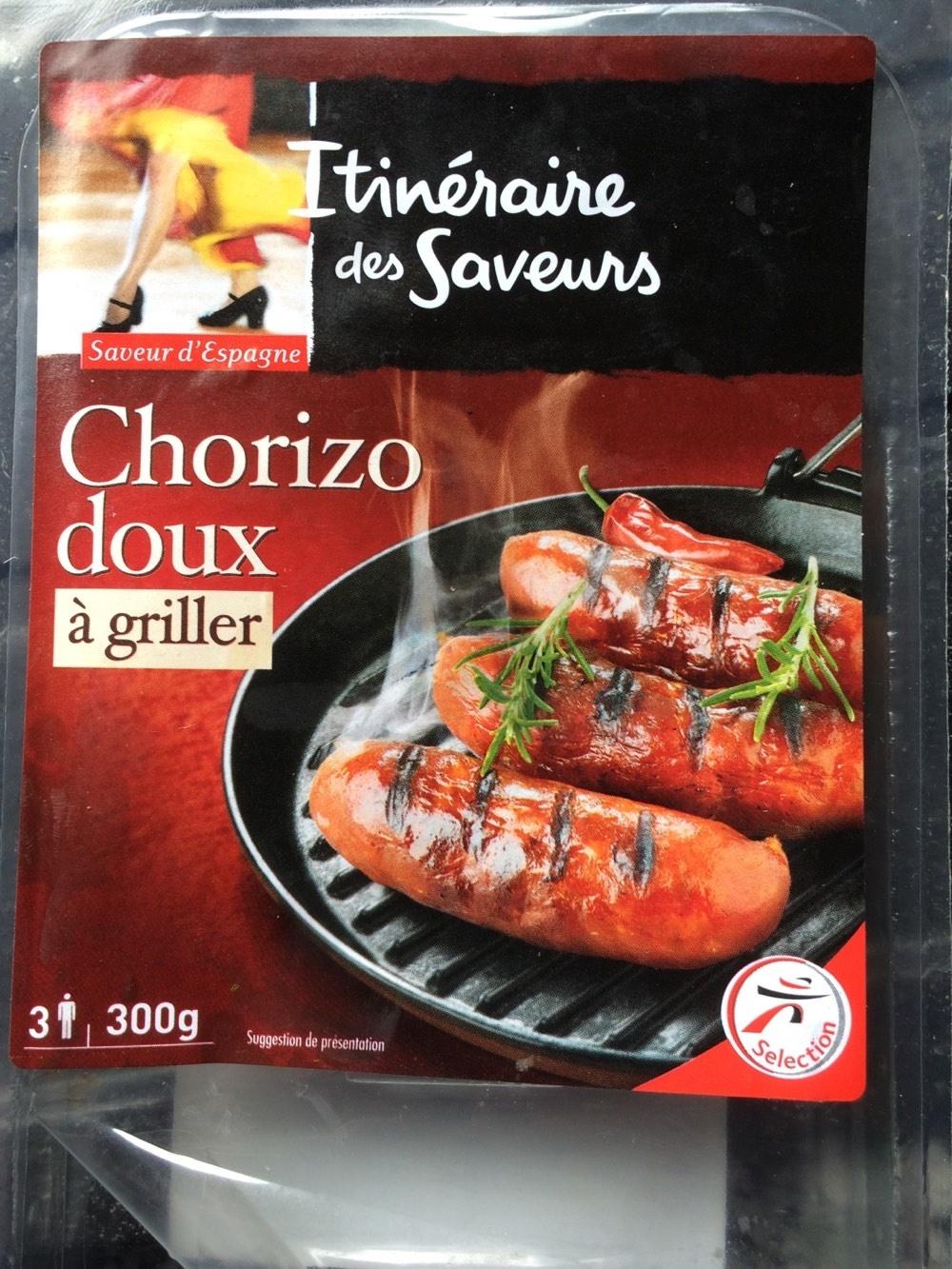 Chorizo doux à griller - Product - fr
