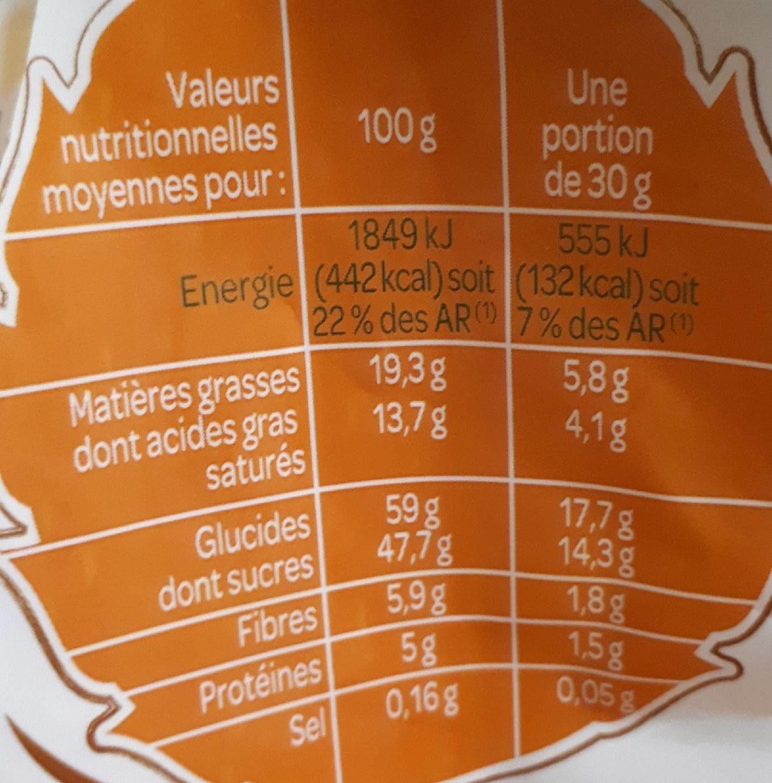 Mélange Tropical - Nutrition facts - fr