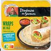 Saveur du Mexique - Galette de blé Wraps - Prodotto