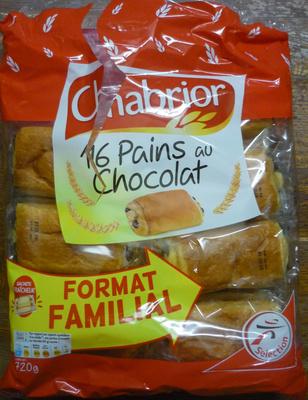 Pains au Chocolat (x 16) Format familial 720 g - Produit