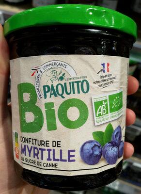 Confiture myrtille Bio - Product - fr