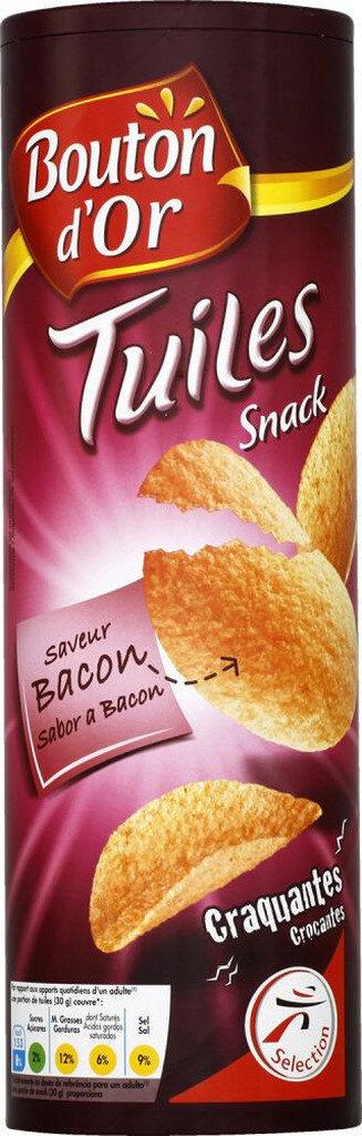 Tuiles snack saveur bacon craquantes - Produit - fr