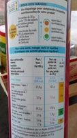 Tuiles snack saveur bacon craquantes - Informations nutritionnelles - fr