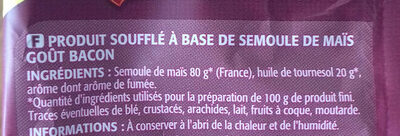 Craquilles saveur bacon - Ingrédients - fr
