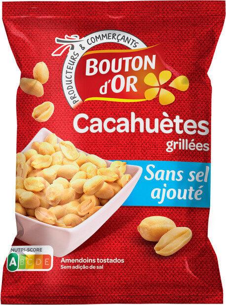Cacahuètes grillées sans sel ajouté - Produit - fr