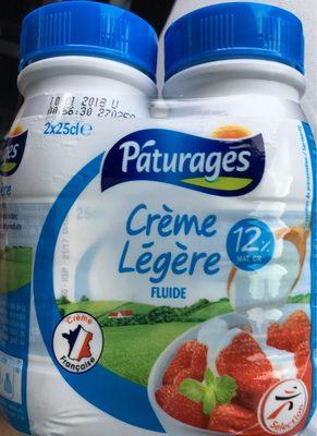 Crème légère - Informations nutritionnelles