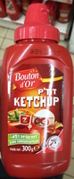 P'tit Ketchup (- 30 % de sucres) - Produit