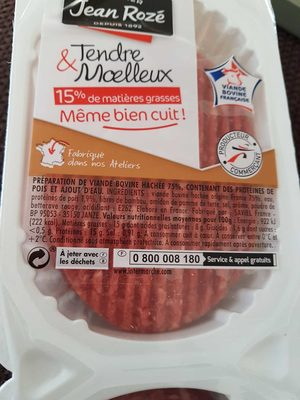 Tendre & Moelleux 15% M.G. - Product