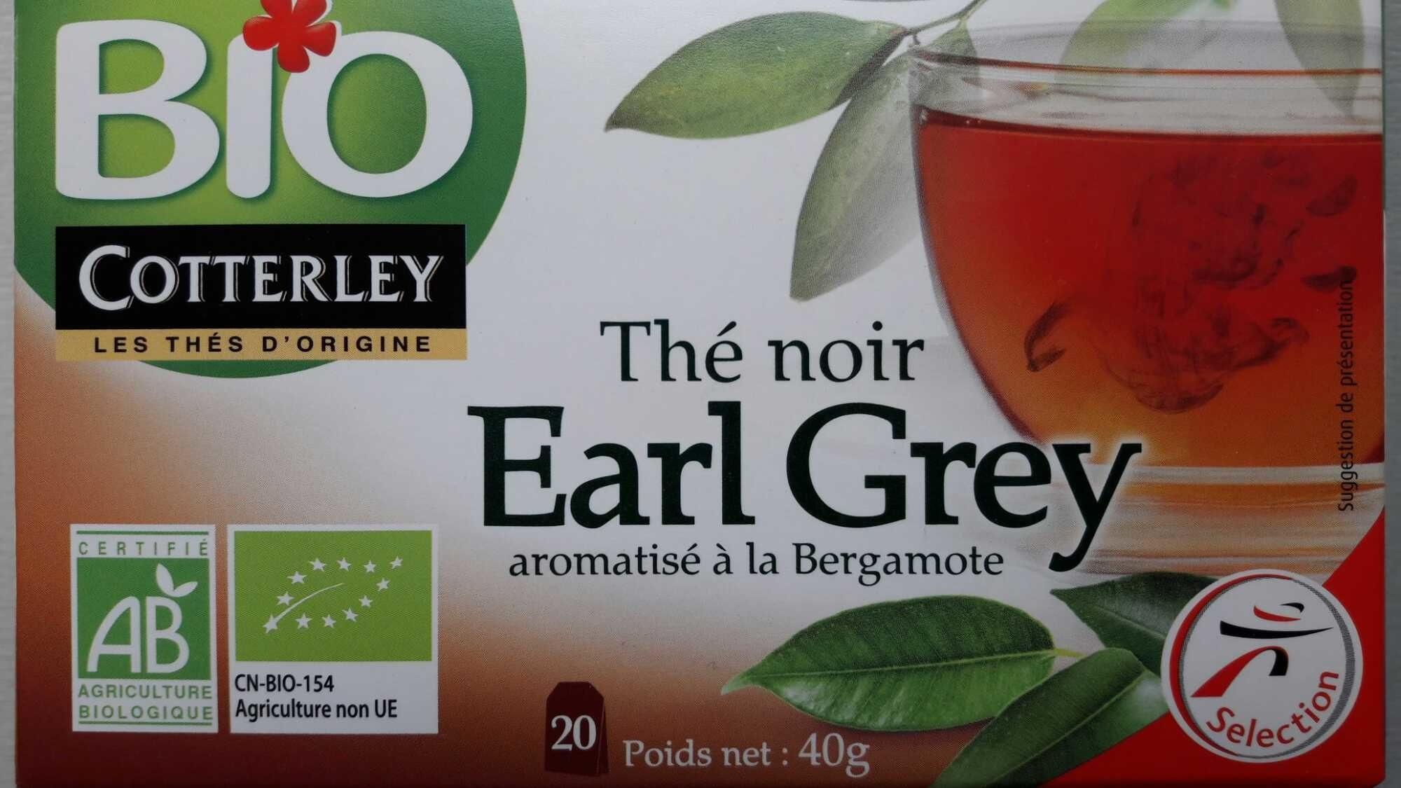 Thé noir Earl Grey bio - Product - fr