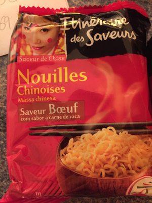 Nouilles Chinoises Saveur bœuf - Product - fr