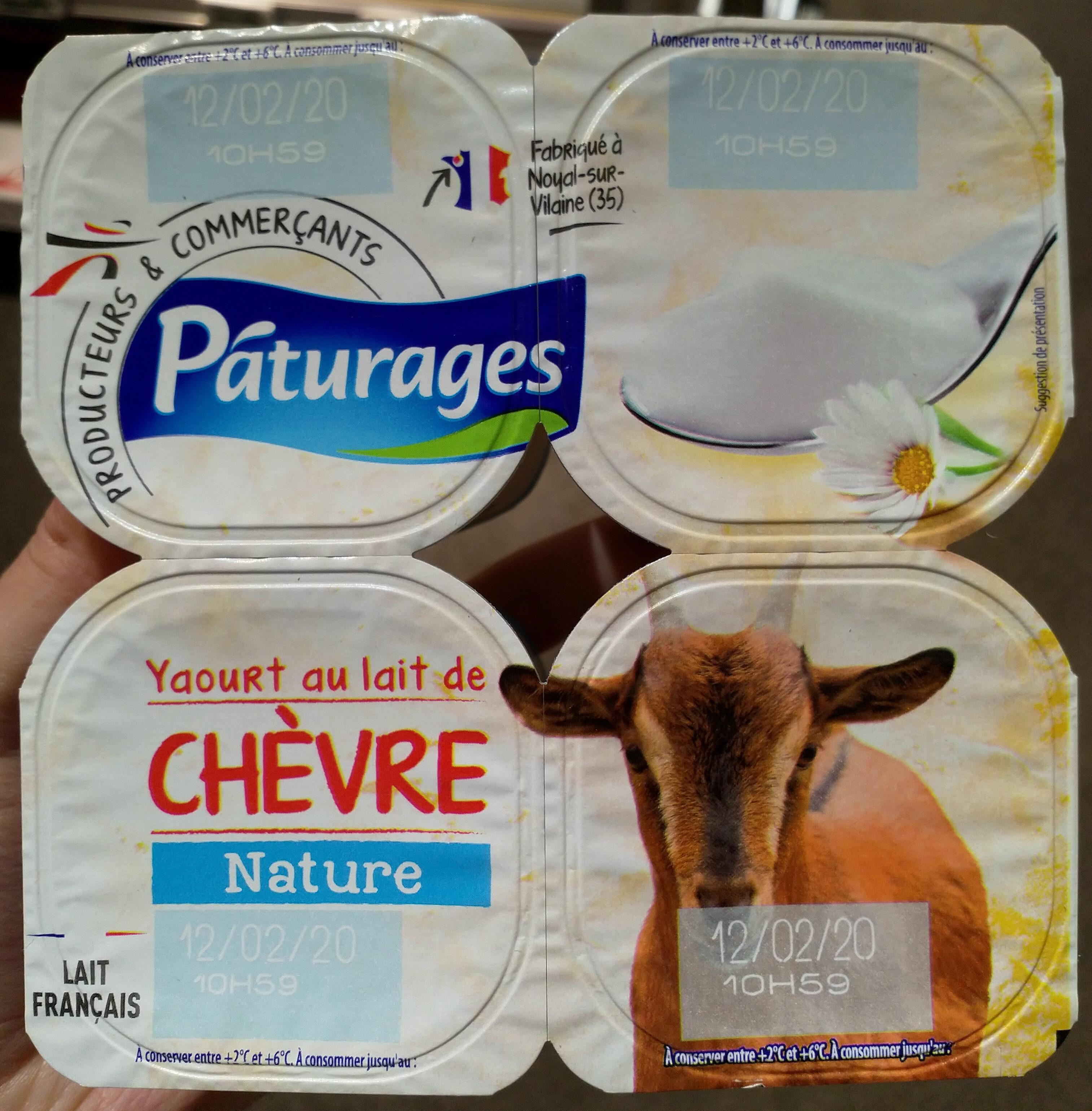 Yaourt au lait de chèvre - Produit - fr